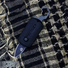 Load image into Gallery viewer, SR56B Mini Pocket Sliding Knife Carabiner Double Blade Mini Knife