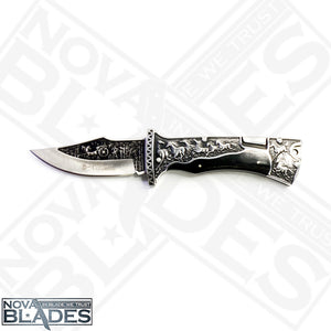 Col- A3189 Tourist Hunting Folding Knife Collector's item