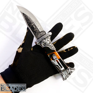 Col- A3188 Tourist Hunting Folding Knife Collector's item