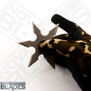 BOGO OFFER: Buy One Get One! 6 Point Kohga Ninja Throwing Star Ninja Shùrikên with Pouch