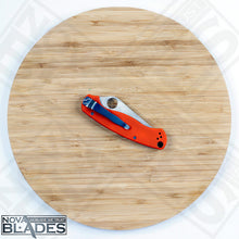 Load image into Gallery viewer, SFA35 Stainless blade G10 handle liner lock Folding Knife (Orange)