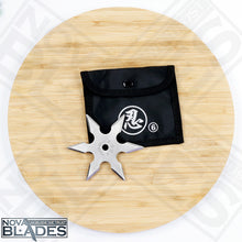 Load image into Gallery viewer, BOGO OFFER: Buy One Get One! 6 Point Kohga Ninja Throwing Star Ninja Shùrikên with Pouch