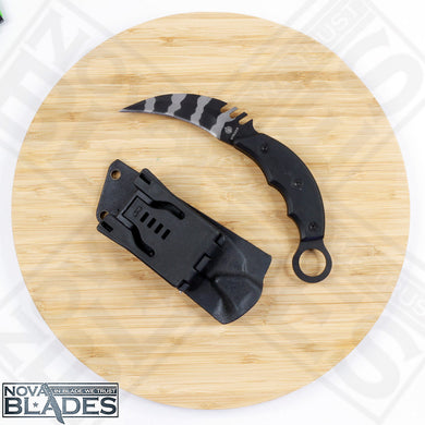 Strider Combat Claw Karambit Knife with Sheath