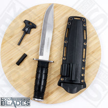 Load image into Gallery viewer, 12 inches Model CS39LSFD Fixed Blade Tactical Knife with Sheath