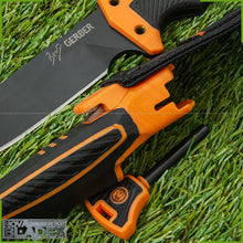 Load image into Gallery viewer, Model BG-6 Fixed Blade Hunting Knife with Sheath
