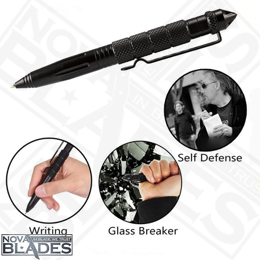 Tactical Pen Self Defense Glass Breaker Aluminum Alloy EDC Tool