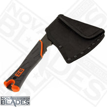"Load image into Gallery viewer, GB Survival Hatchet 3.5"" with Nylon Sheath"