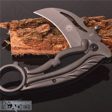 Load image into Gallery viewer, X63 All Steel Karambit Folding Knife