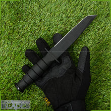 Load image into Gallery viewer, MT-113 Fixed Blade Tanto Straight Survival Knife with Nylon Sheath