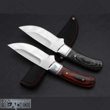 Load image into Gallery viewer, Sanjia K-91 Full Tang Fixed Blade Knife with Nylon Sheath