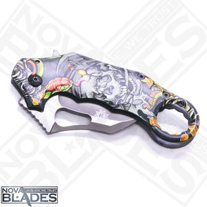 X73 Pocket Folding Karambit Knife