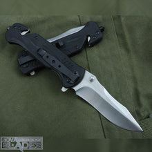 Load image into Gallery viewer, BM DA57 Tactical Folding Pocket Knife with Belt Cutter, Glass Breaker