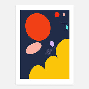 Cosmos Print - Limited Edition Series of 22