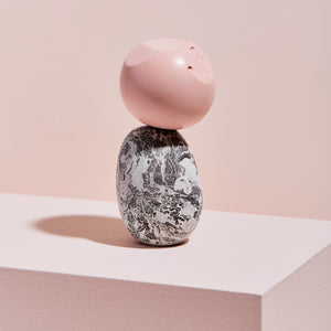 Pink Facet, One-of-a-Kind Sculpture MONOMIO Exclusive