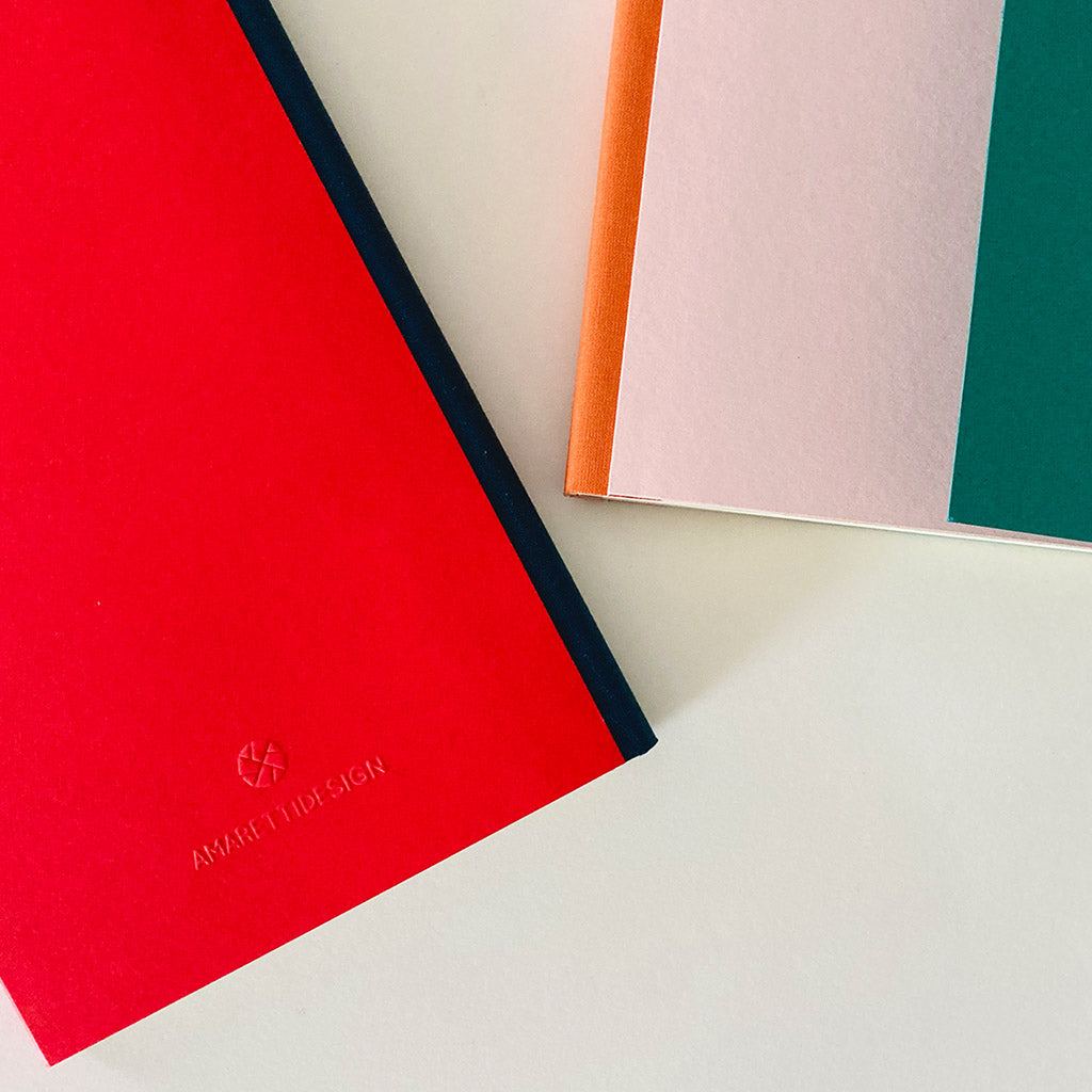 Diary 2021 Limited Edition Amaretti X MONOMIO Rose -Teal