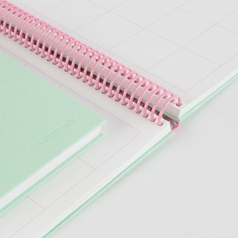 Easy Breezy Park Green Notebook