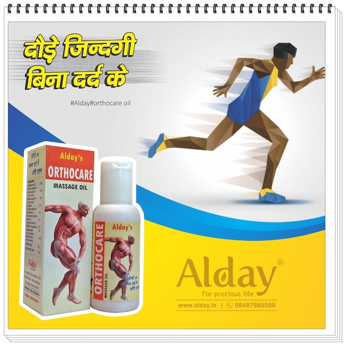 Alday® Orthocare Ayurvedic pain relief oil