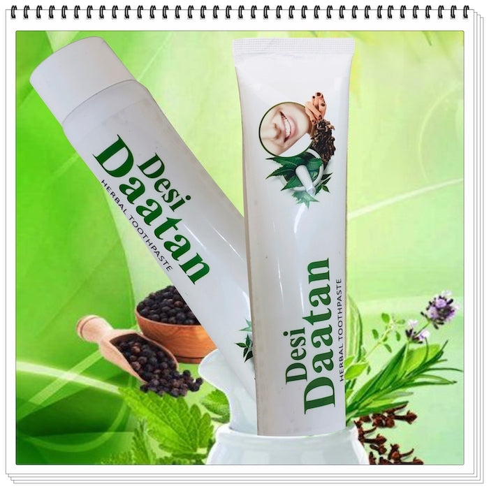 Desi Daatan Herbal Tooth Paste