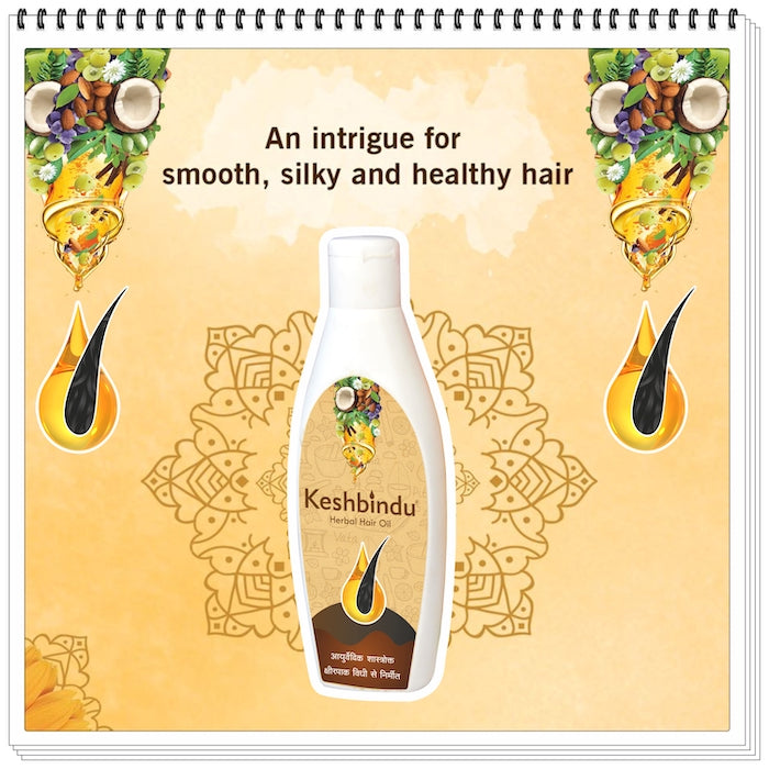 Alday®  Keshbindu® Herbal Ayurvedic Oil