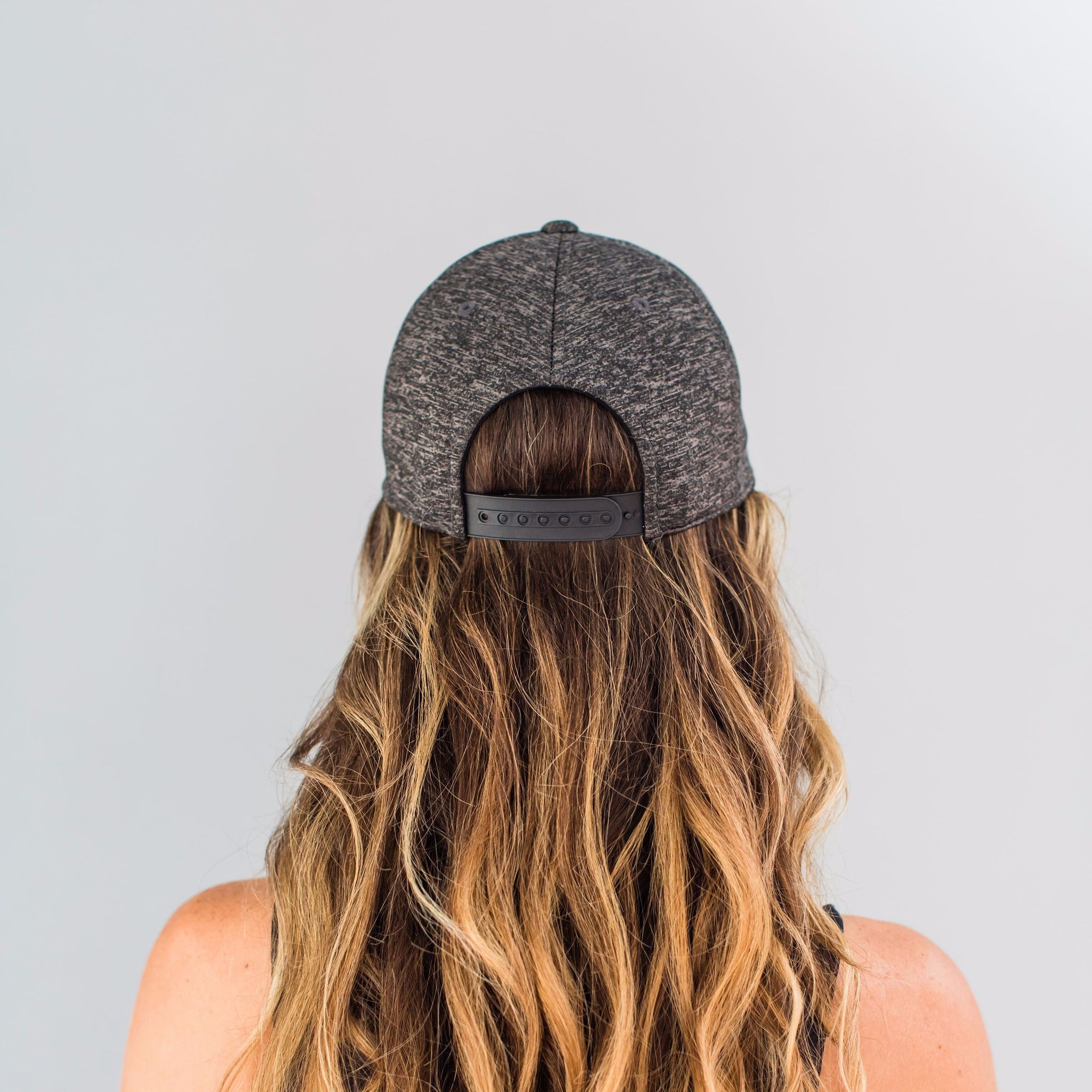 Structured, Sport Cap - Heather Grey