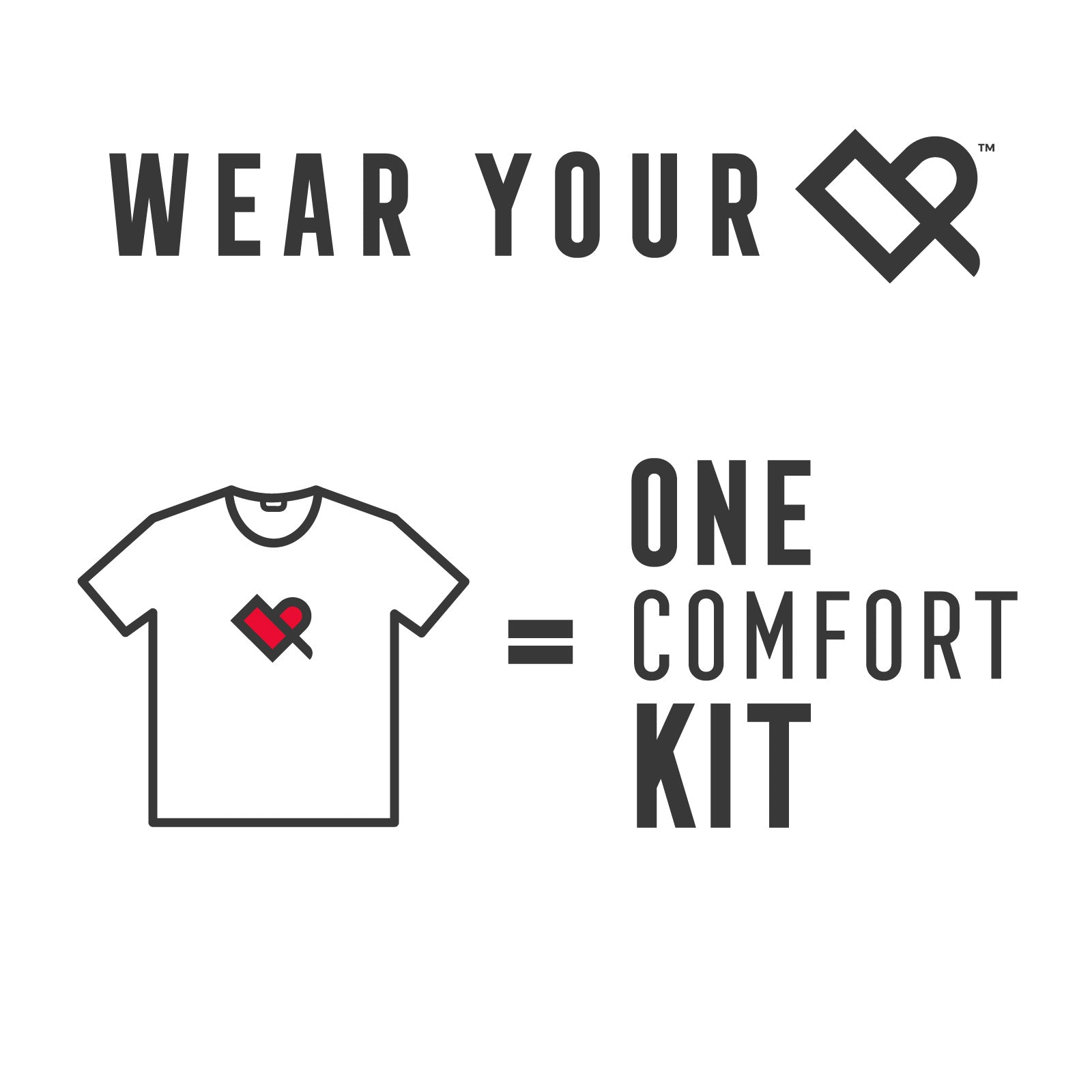 Wear Your Heart on Your Tee - Red Cross
