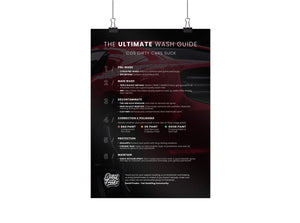 Open image in slideshow, The Ultimate Wash Guide Poster