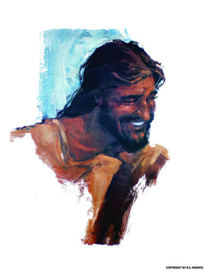 Poster - Happy Biblical Man?