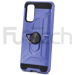 Samsung S20 Ring Armor Case, Color Blue