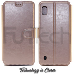 Samsung A10, 5G Leather Wallet Case,