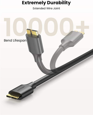 USB A MALE TO MICRO USB 3.0 CABLE