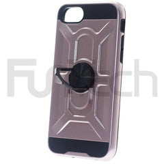 Apple iPhone 7/8 SE2020 Ring Armor Case, Color Rose Gold.
