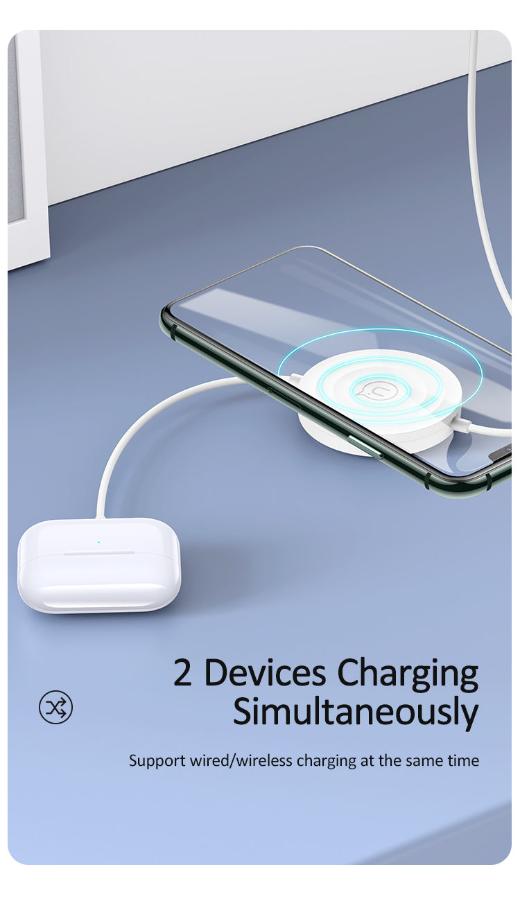 Wireless Charger| iPhone Wireless Charger| Lightning Charging Cable