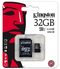 32GB Micro SD card with adaptor Class 10
