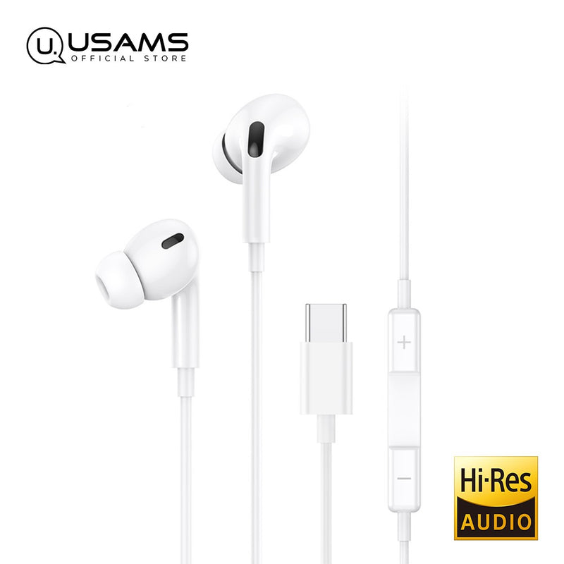 USAMS 3.5mm In-ear Earphone High Resolution Sound Quality