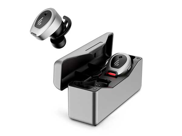 EDIFIER TWS NB True Wireless Earbuds with Active Noise Cancellation Metallic grey