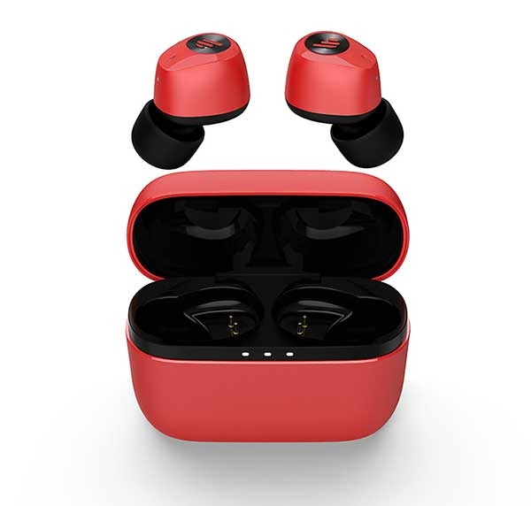 EDIFIER TWS2 Truly Wireless Stereo Earbuds Red