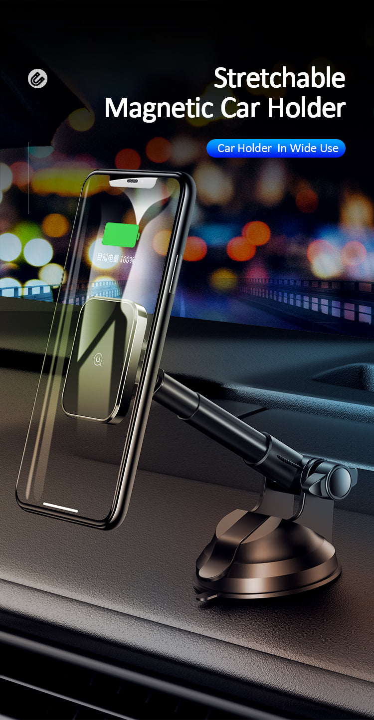 USAMS US-ZJ055 Metal Stretchable Magnetic Car Holder