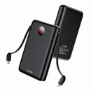 USAMS PB13 Digital Power Bank with Cables