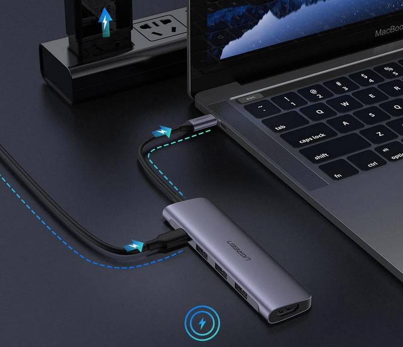 USB Type C to 4K HDMI Video Output