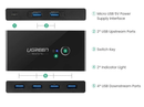Ugreen 2 In 4 Out USB 3.0 Sharing Switch