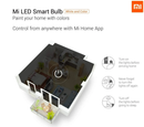 Xiaomi Mi Multicolour WiFi LED Smart Bulb - E27, Twin Pack