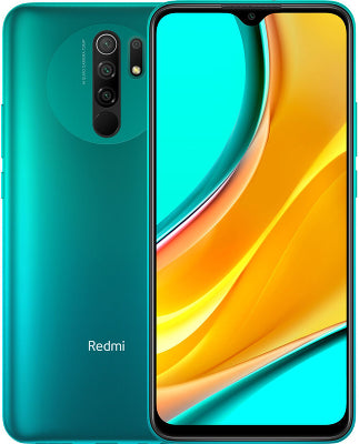 Xiaomi Redmi 9 64GB Ocean Green 4GB RAM 64GB Storage sim free unlocked smart phone