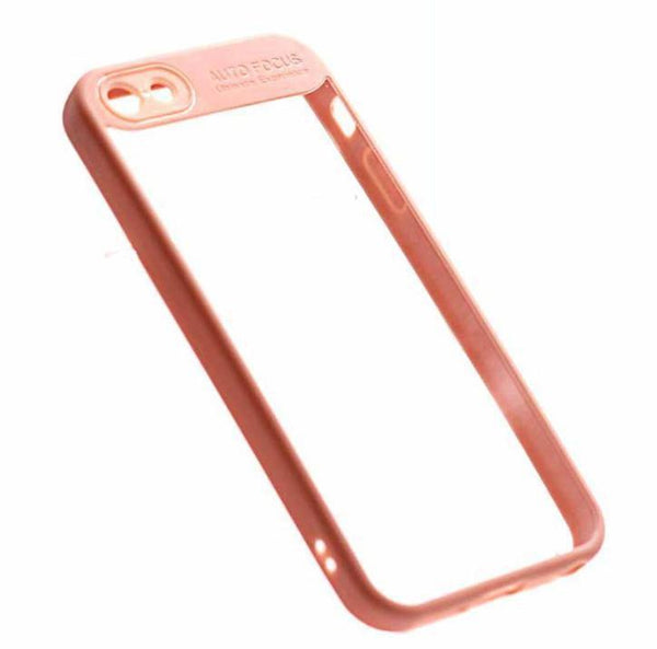 Auto Focus iPhone 5 5s SE phone case pink