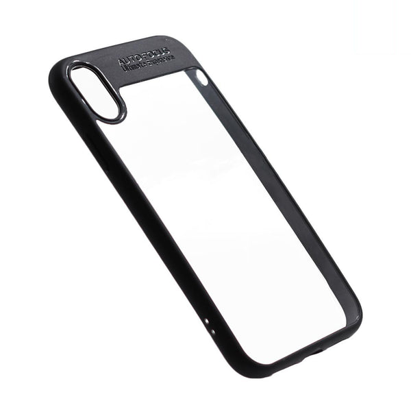 Auto Focus iPhone XR phone case black