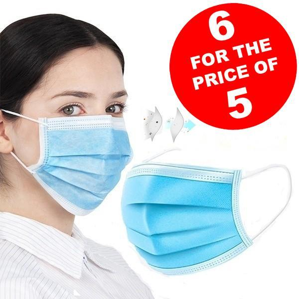 Disposable face masks (Pack of 20)