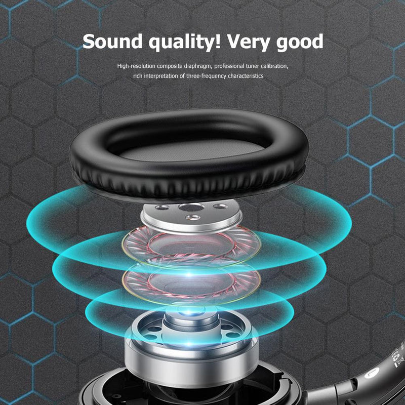 USAMS Foldable Wireless Bluetooth Noise Cancelling Headphones