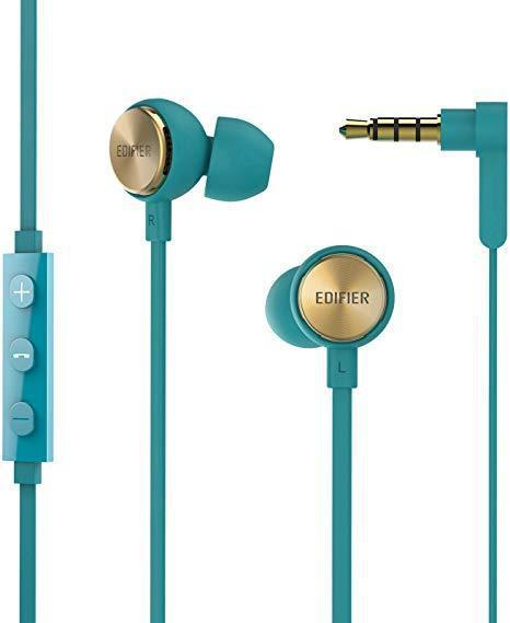 Edifier P293 Plus Earbuds with remote and mic - Green