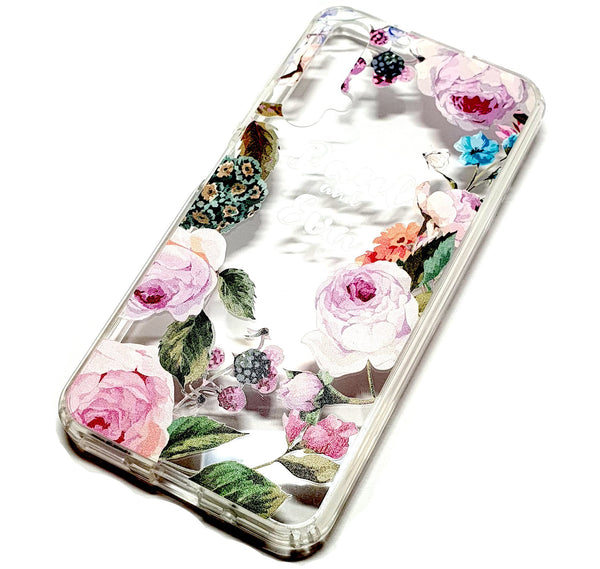 Huawei Nova 5T decorative clear transparent phone case Paul & Eva