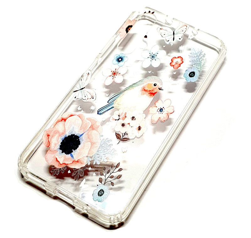 Huawei Nova 5T decorative clear transparent phone case robin