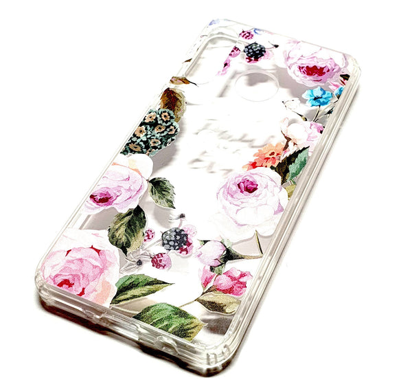 Huawei P Smart 2019 decorative clear transparent phone case Paul & Eva